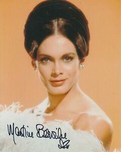 "Martine Beswick 10""x8"" photo signed in person - British Actress - K634"