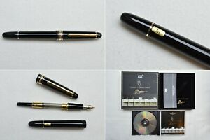 """Montblanc Meisterstuck Classique 145 Hommage A Frederic Chopin Fountain Pen """"M"""""""