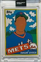 DWIGHT GOODEN 2020 TOPPS NY NEW YORK METS SLABBED UNCIRCULATED SEALED ART CARD