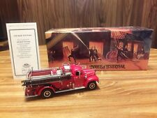 Matchbox Models Of Yesteryear, 1956 Mack B95 Pumper, Diecast, Cert.Of Authenticy