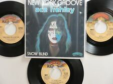 LOT OF 4 ' KISS '/ ' ACE FREHLEY ' HIT 45's+1P(Copy)[New York Groove]  THE 70's!
