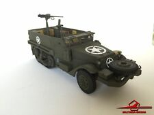 SCHUCO M3A HALF TRACK US. 1945 w/ MACHINE GUN - 81mm Mortar - SCALE 1:43