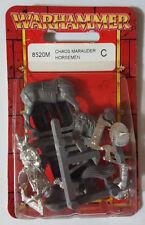 GW Warhammer Chaos Marauder Horsemen 8520M(a) 2000 - METAL NEW IN BLISTER OOP