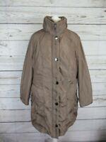 Manteau marron clair Charles Vogele en très bon état, taille 48