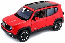 Welly - JEEP RENEGADE (Red) Die Cast Model - Scale 1:24