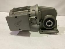 NORD GEARED AC MOTOR 0.16HP 230/240V.  60HZ.  OUTPUT RPM: 90  # C31219402/9333