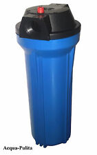 """Contenitore Filtro 10"""" COLORE BLU Depuratore Addolcitore Acqua SPEDIZIONE GRATIS"""