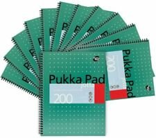 Pukka Pads A4 Wirebound Jotta Metallic Pads 80gsm 200 Pages - Pack of 12 Pads
