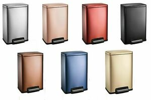 Tramontina 13 Gal Step Trash Can, Assorted Colors ~ Free Shipping