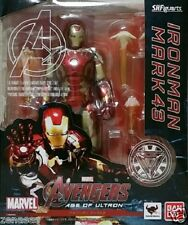 Used Bandai S.H.Figuarts The Avengers Iron Man Mark 43 PAINTED