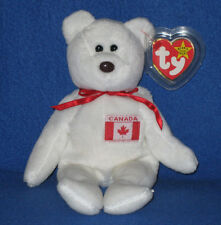 TY MAPLE the BEAR BEANIE BABY - MINT with MINT TAGS - CANADA EXCLUSIVE