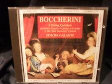 Luigi Boccherini - 3 String Quintets - Europa Galante