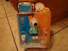 2005 MEZCO--FAMILY GUY--BRIAN'S COUSIN JASPER FIGURE (NEW) SERIES 3