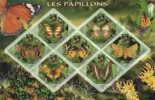 Mariposa Insecto Lord Baden-Powell Republique du Benin 2006 estampillada sin montar o nunca montada SELLO Sheetlet