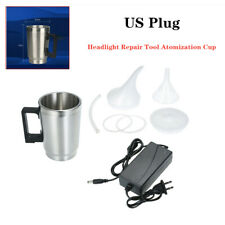 Car Auto suv Headlight Lens Polish Repair Tool Restoration Cup Restore Kit 12V