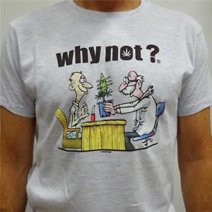 "maglietta- t-shirt Medical ""Whynot?"" cotone di alta qualità"