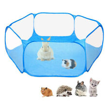 Pet Playpen Animal Puppy Dog Rabbit Cat Play Cage Breathable Foldable Fence