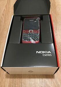 Nokia E63-1 RUBY RED 100% NEW ORIGINAL IN BOX
