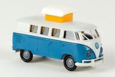 1/87 Brekina # 1750 VW T1 b Camper lichtgrau/brilliantblau 31569