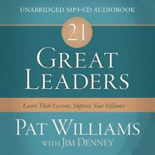 21 Great Leaders Audio (CD) : Learn Their Lessons, Improve Your Influence by Pat