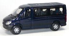 Mercedes Benz SPRINTER Traveliner Sammlermodell ca. 12cm dunkelblau von WELLY