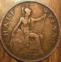 1934 UK GREAT BRITAIN HALF PENNY