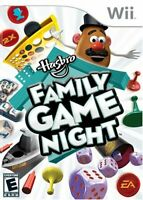 Hasbro Family Game Night 1 (Nintendo Wii, 2008) Complete CIB VG Very Good Cond.