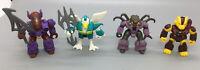 1987 Hasbro Battle Beasts - Lot Of 4