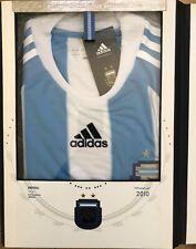 LTD EDITION ADIDAS ARGENTINA 2010 WORLD CUP JERSEY TECHFIT P96832
