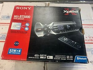 new open box Sony MEX-Bt5000 Bluetooth  CD  Player NEW Never Installed