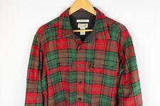L.L.Bean Men Casual Shirt Traditional Fit Flannel Warm Lumberjack Check size L