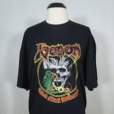 VENOM Black Metal Holocaust T-Shirt Black Men's size 2XL (NEW)