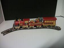Mervyn'S Christmas Village Train And Track 1982