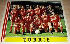 FIGURINA CALCIATORI PANINI 1994/95 TURRIS 604 ALBUM 1995