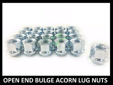 20PC DODGE RAM OPEN END LUG NUTS 9/16   19MM   FITS MOST DODGE WHEELS
