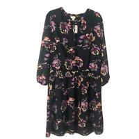 J. Crew Factory Floral Smocked Waist Dress Size XXL NWT Spring 20 Fall Florals