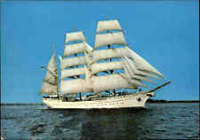 Schiffsfoto-AK ~1960/70 Schiffe Segelschiffe Windjammer Bark GORCH FOCK Ship