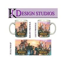 World of Warcraft Personalised Gaming Mug