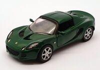 Saico 1/28 Scale Pull Back & Go Model Car SC02 - Lotus Elise Closed - Green