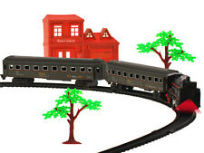 Zug Elektrische  set Eisenbahn Ein Zug  Eisenbahn 3 Waggons Schienen 1 Lok NEU
