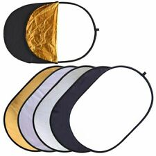 60x90cm-24x35  5-in-1-Photography-Studio-Photo-Oval-Collapsible-Light reflector