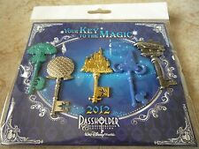 Pin Trading Disney Pins Lot of 5 New Key to the Magic Passholder Disney World 12