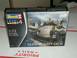 NIOB 1/72 REVELL GERMAN NAVY CREW WW2 02525 BATTLESHIP MODEL SHIP