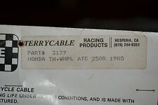 "NOS Terrycable Honda ""Whirlpull"" Throttle Cable #3177 85' ATC250R"