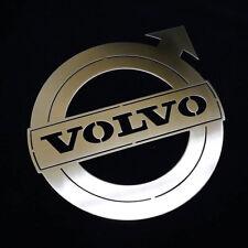 Stainless Steel Volvo Badge - Laser Cut