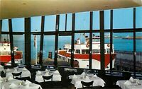 Chrome Postcard CA J112 San Francisco Franciscan Restaurant Fishermans Wharf