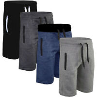 Men Gym Sport Shorts Training Casual Joggers Running Plain Pants Trousers Summer