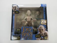 2003 TOY BIZ LORD OF THE RINGS LOTR ELECTRONIC TALKING GOLLUM FIGURE SEALED