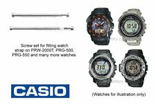 Casio Screw Set for Protec Watch Straps incl. PRG-550, PRW-2000 & more (Qty4)
