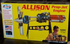 Atlantis Revell 1551 ALLISON Model 501D13 Prop-Jet Engine plastic model kit 1/10